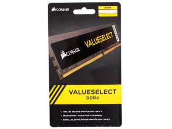 DIMM 8GB DDR4-2666 Corsair CMV8GX4M1A2666C18 ValueSelect