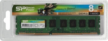 DIMM 8Gb DDR3-1600 Silicon Power SP008GBLTU160N02