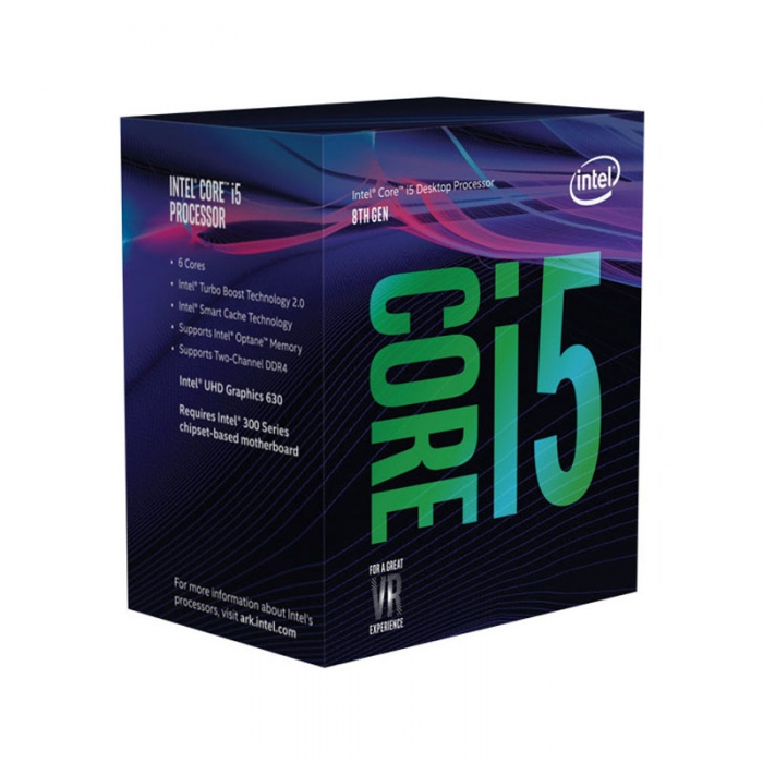Процессор Intel Core i5-8600K BOX Coffee Lake (3600MHz/ LGA1151 v2/ L3 9216Kb 6-core)