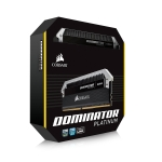 DIMM 32Gb (4*8Gb) DDR4-3000 Corsair CMD32GX4M4C3000C15 Dominator Platinum